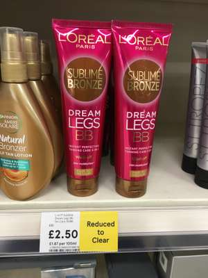 Loreal Sublime Bronze Tanning £2.50 instore @ Tesco Leicester