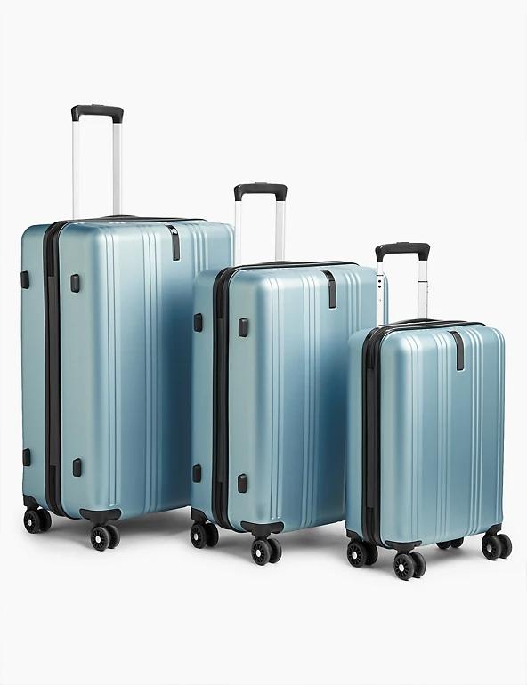 Set of 3 Lisbon hard shell 8 wheel Suitcase £144 at Marks & Spencer