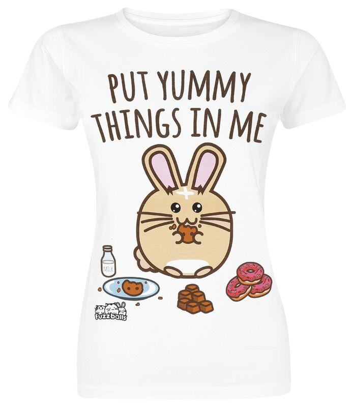 Fuzzballs Put Yummy Things In Me T-Shirt £13.99 @ EMP
