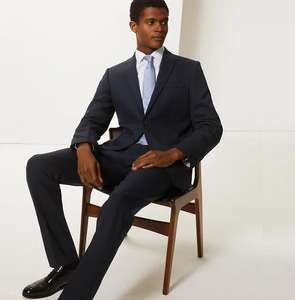 M&S Collection Navy Slim Fit 3 Piece Suit. £79 @ Marks & Spencer