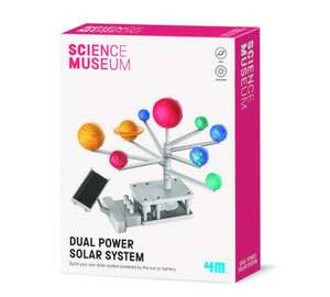 Science Museum - Dual Powered Solar System Kit £14.99 delivered at Debenhams