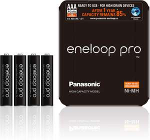 Eneloop pro aaa with case - £10.47 (+£4.49 Non Prime) @ Amazon