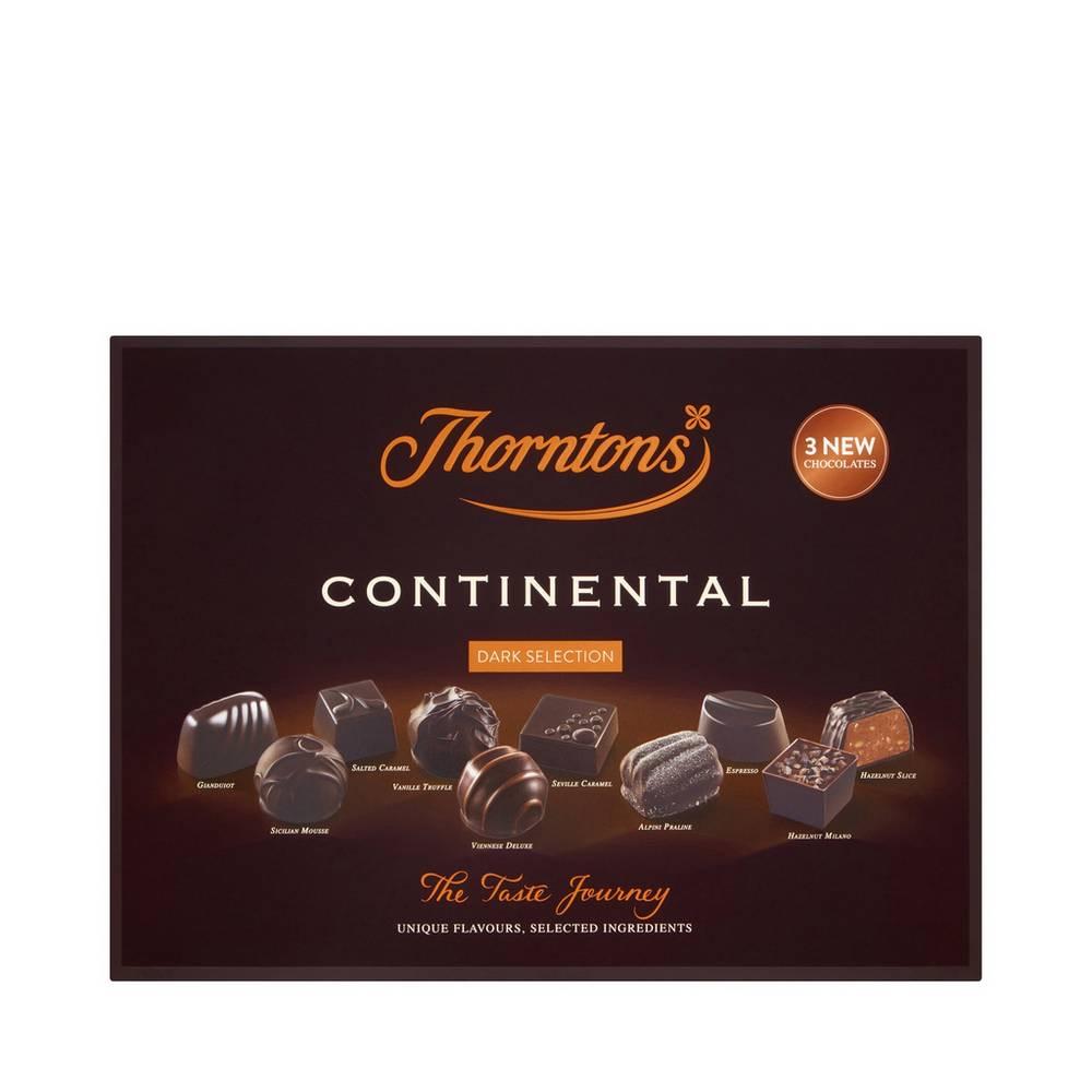 Thornton's - Continental Dark Chocolate Selection 284g (Asda N. Hykeham) - £2