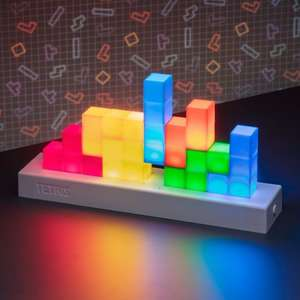 Tetris Icons Desk Light With 3 lighting Modes - Standard, Phasing, Music Reactive - £11.25 (Free Collection / Or £3.99 Delivery) @ Menkind