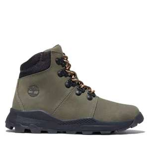 Timberland Brooklyn Junior Hiking Boots in Green, £29.25 delivered using code @ Timberland