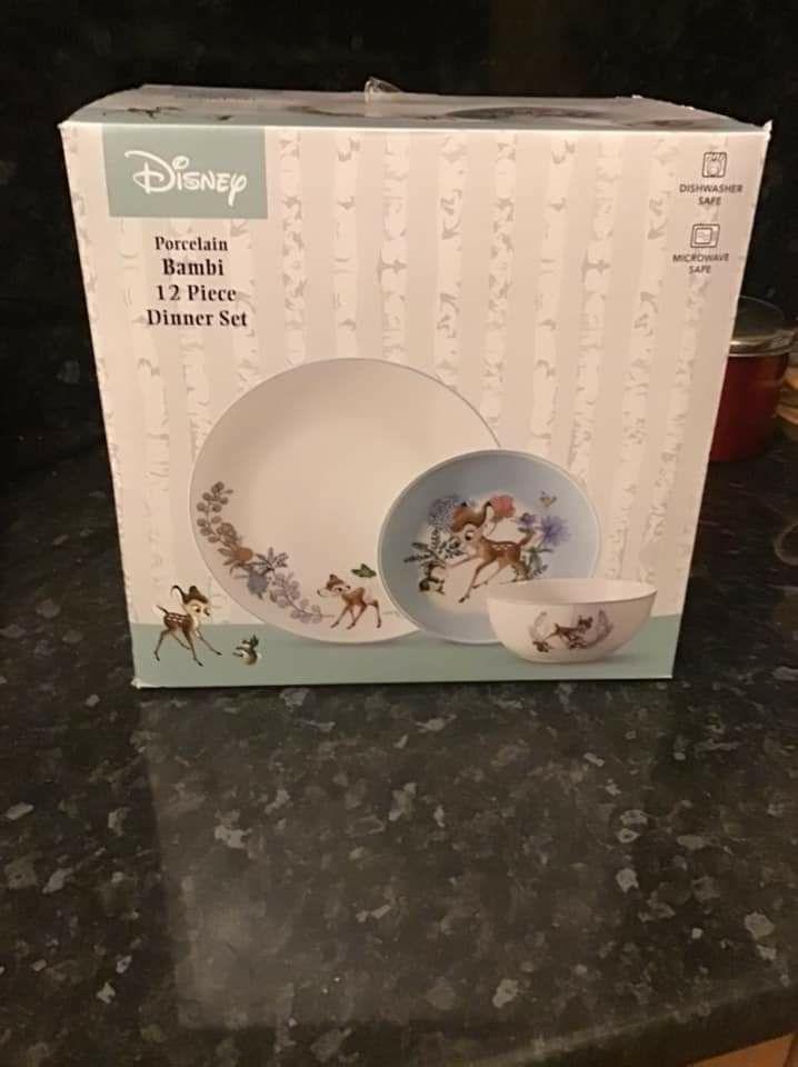 Disney Porcelain Bambi 12 Piece Dinner Set is £8.80 @ Asda (Chadderton)