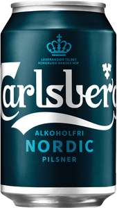 Carlsberg alcohol free Nordic Pilsner can 39p @ Home Bargains (Oxford)