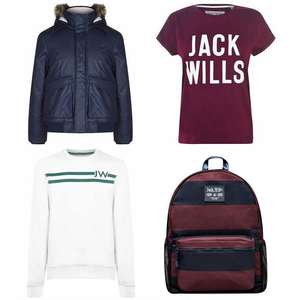 Up to 60% Off Sale - Prices starting from £2.00, Tees from £13.00, Jackets from £37 (+ £4.99 delivery) @ Jack Wills