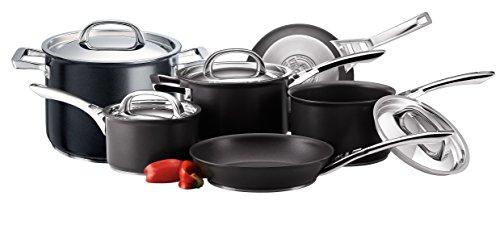 Circulon Infinite Saucepans, Stockpot and Frypans Set of 6 stainless steel lids - Hard Anodized Aluminium Cookware £147.22 @ Amazon