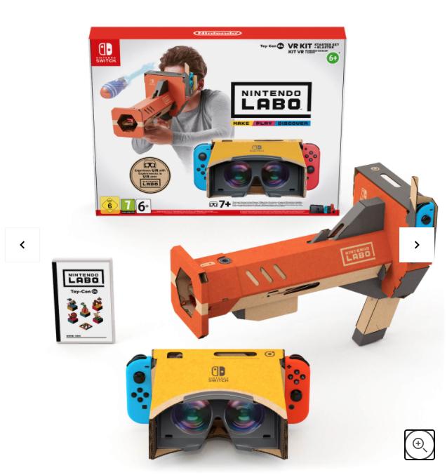 Nintendo Labo VR Kit - Starter Set+Blaster £34.99 @ Nintendo Store