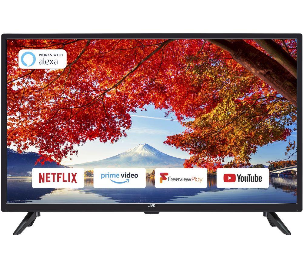 "JVC LT-32C600 32"" Smart HD Ready LED TV £149 @ Currys PC World"