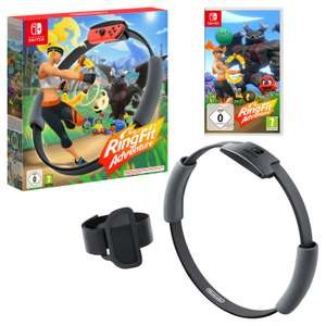 Ring Fit Adventure (Nintendo Switch) - £62.99 with 10% off student discount + Free next day delivery @ Nintendo Store