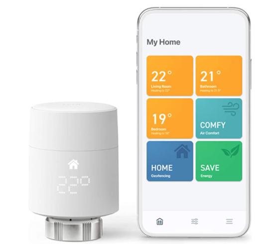 tado° Smart Radiator Thermostat Starter Kit V3+ £64.99 @ Amazon