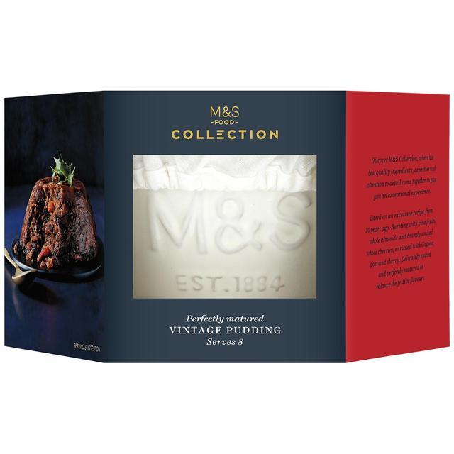 M&S collection vintage Christmas pudding 800g £3.75 @ Marks & Spencer Lewisham