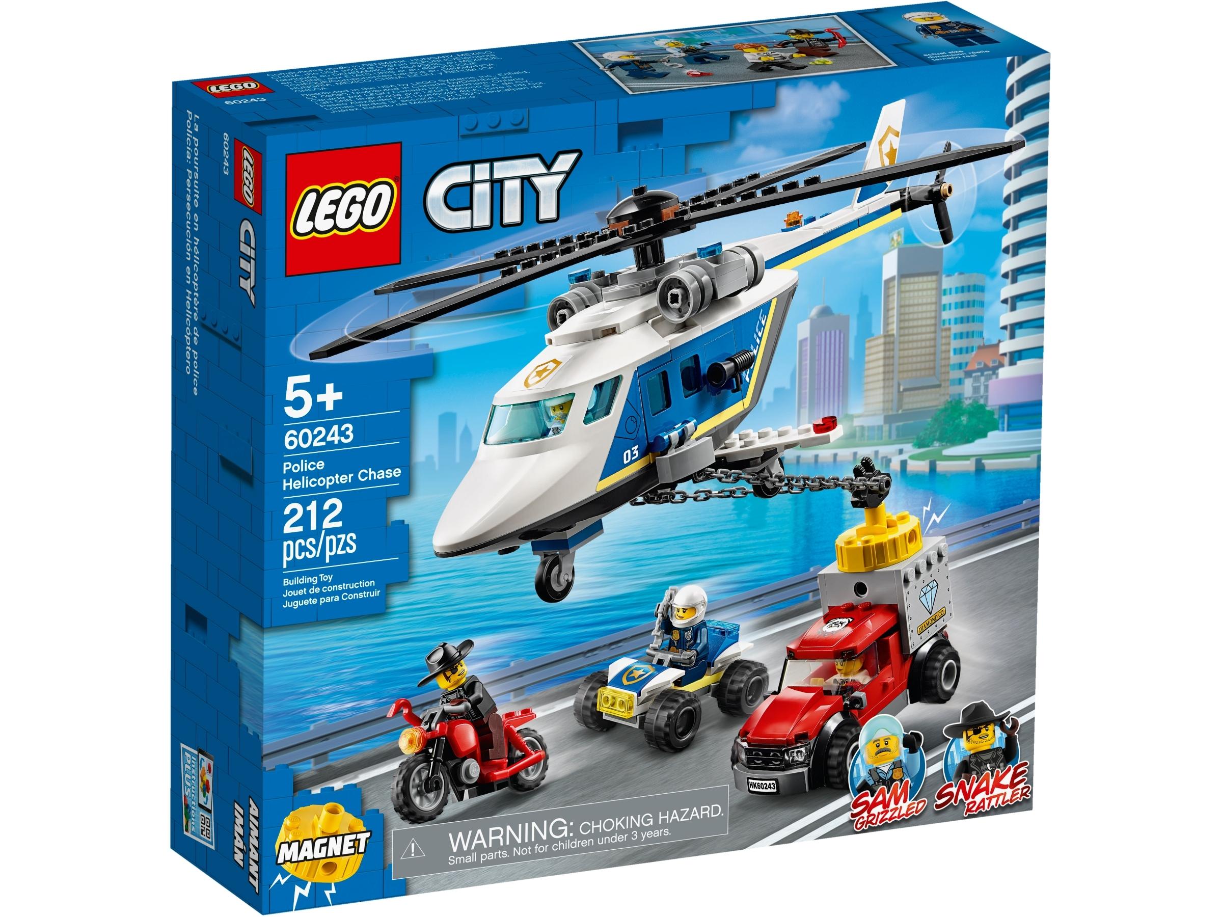 Sainsbury's Lego City police chase helicopter (set 60243) £16.66 @ Sainsburys (Amblecote )