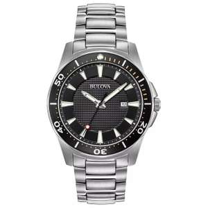 Bulova Men's Classic Silver Stainless Steel Bracelet Watch - £99.99 / £89.99 after 10% off with newsletter signup delivered @ H Samuel