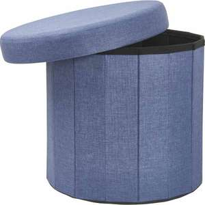 Wilko Home Storage Sale Nice Decorative Items e.g. Wilko Faux Linen Round Ottoman - £15 / £5 delivery - Mainland UK only