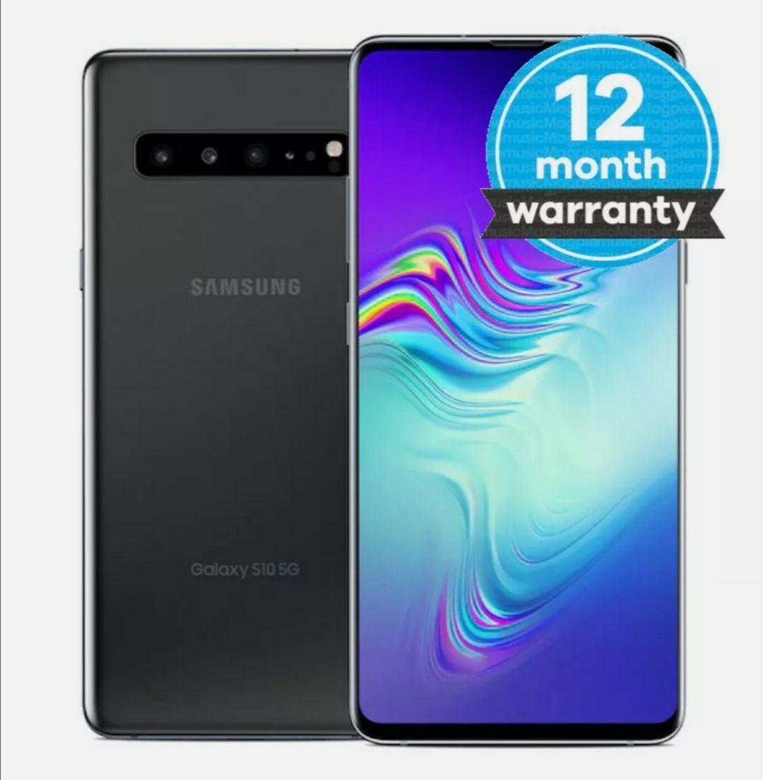 Samsung Galaxy S10 5G - 256GB Black Unlocked Good Condition Smartphone - £316.34 @ Music Magpie / Ebay