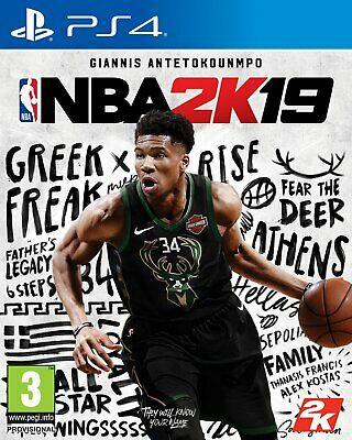 NBA 2K19 Sony Playsation PS4 Game £5.99 delivered @ Argos on eBay