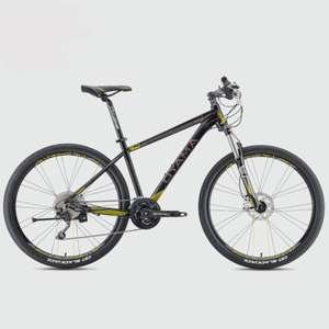 Oyama Spartan 3.7 hardtail Mountain bike, Hydraulic brakes, Remote lockout, Deore, Air forks, £495 at Merlin Cycles