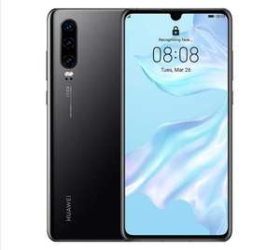 Very Good Condition - Huawei P30 ELE-L29 - 128GB - Black (Unlocked) (6GB RAM) Smartphone - £167.91 With Code @ Pre-Loved-Tech / Ebay