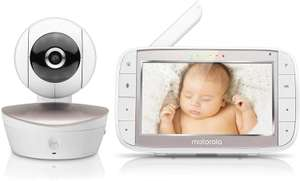 "Motorola MBP49 5"" screen baby monitor £58.49 delivered @ Groupon"