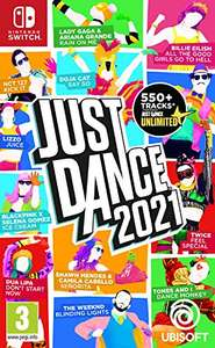 Just dance 2021 switch £29.99 Amazon