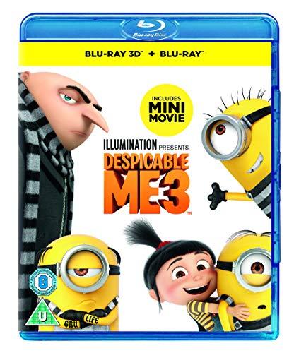Despicable Me 3 [Blu-ray +3D disc] [2017] £3.99 @ Amazon Prime / £6.98 Non Prime