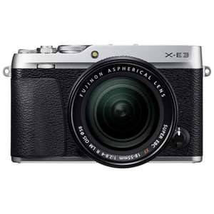 FUJIFILM X-E3 Mirrorless Camera Body Silver £349 at Park Cameras