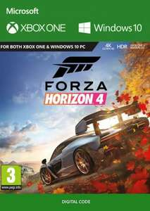 Forza Horizon 4 Xbox/PC download £16.99 @ CDKeys