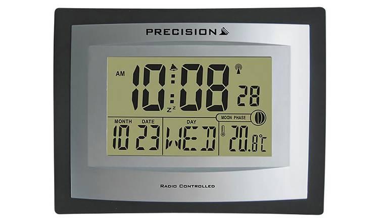 Precision LCD Radio Controlled Clock £13.20 at Argos c&c