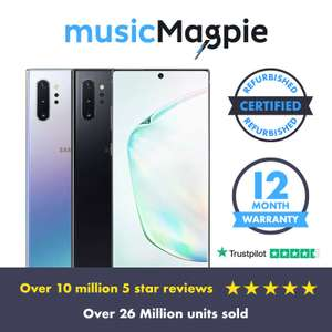 Samsung Galaxy Note 10+ Plus 5g 512gb Black Unlocked in Good condition - £418.94 delivered using code from Music Magpie/ Ebay