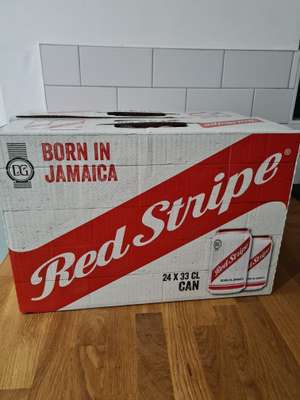 24 cans of Red Stripe £10 at Aldi (Holmes Chapel)