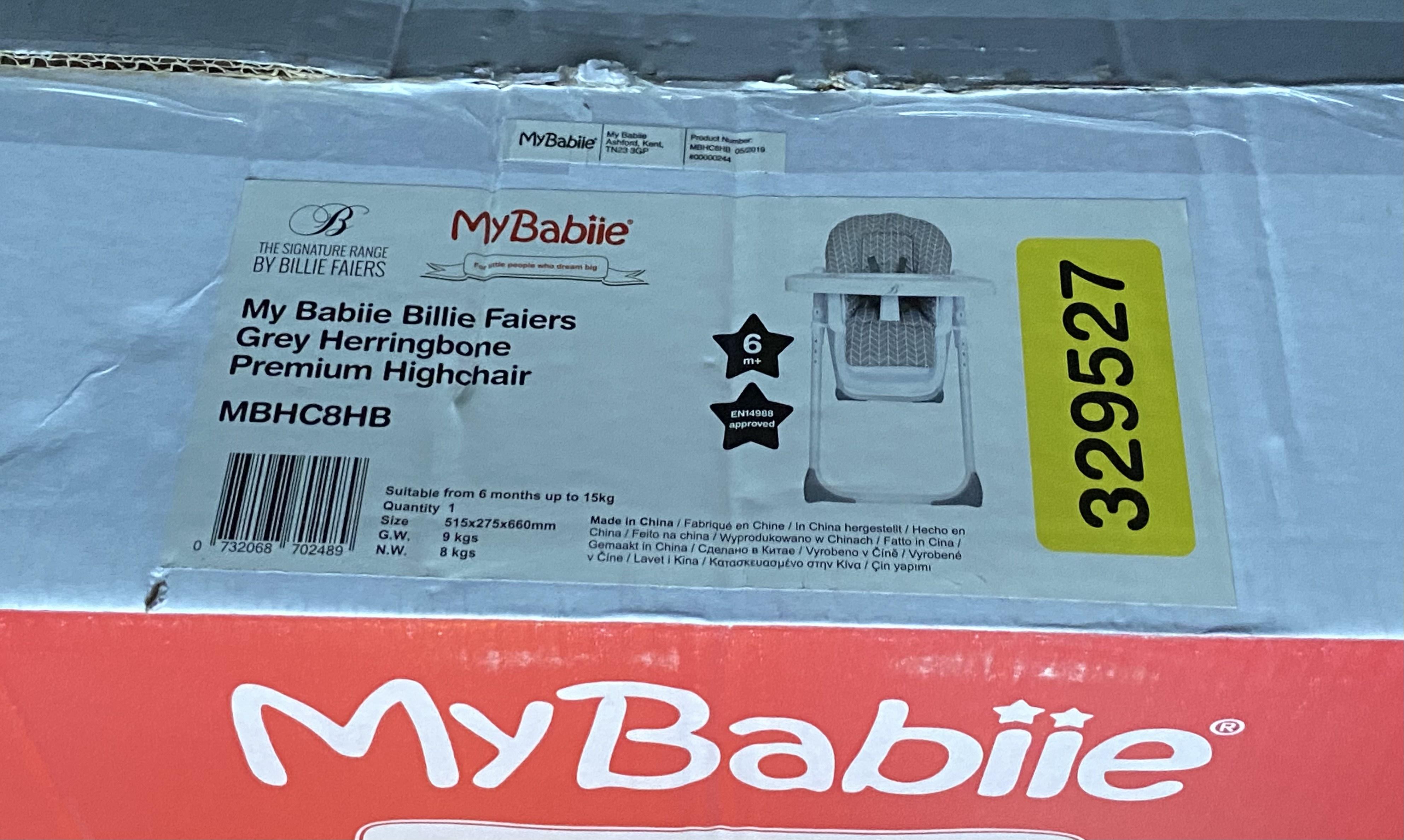 My babiie premium highchair £19.99 @ Lidl (Ringwood)
