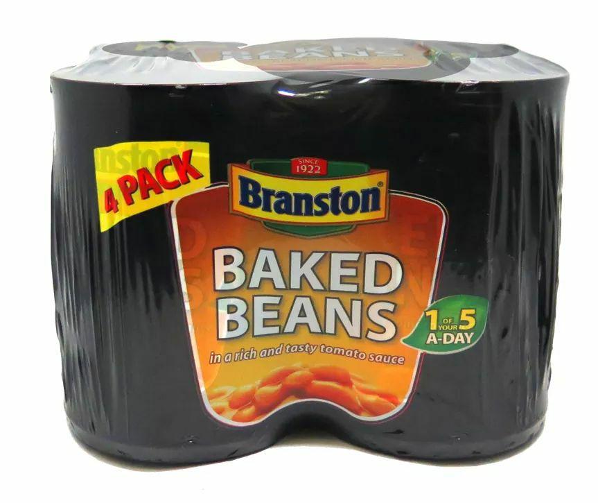 Branston Baked Beans 4 Tin Packs are £1.50 @ Asda