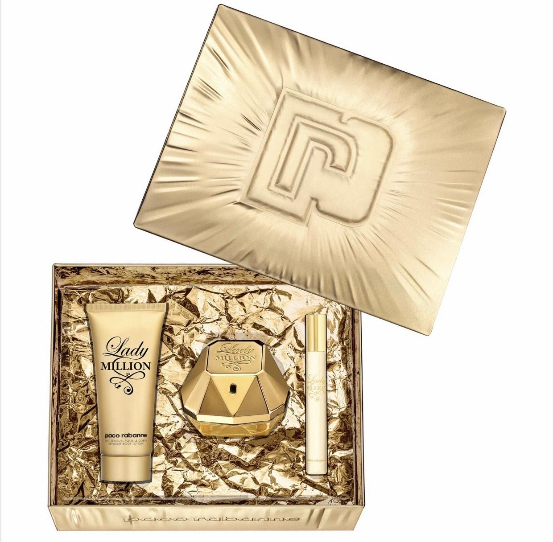 Paco Rabanne - 'Lady Million' Eau de Parfum & Body Lotion Gift Set - £54.99 @ Debenhams