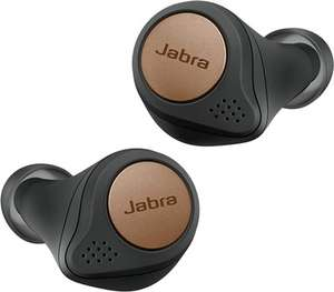 Grade A : Jabra Elite Active 75t Earbuds Amazon Sports Edition – Active Noise Cancelling True Wireless Sports – Copper Black @ CeX - £105
