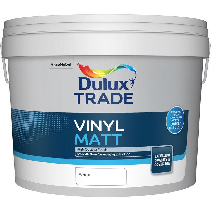 Dulux trade vinyl matt 10l £34.98 @ toolstation (From 4th Jan)