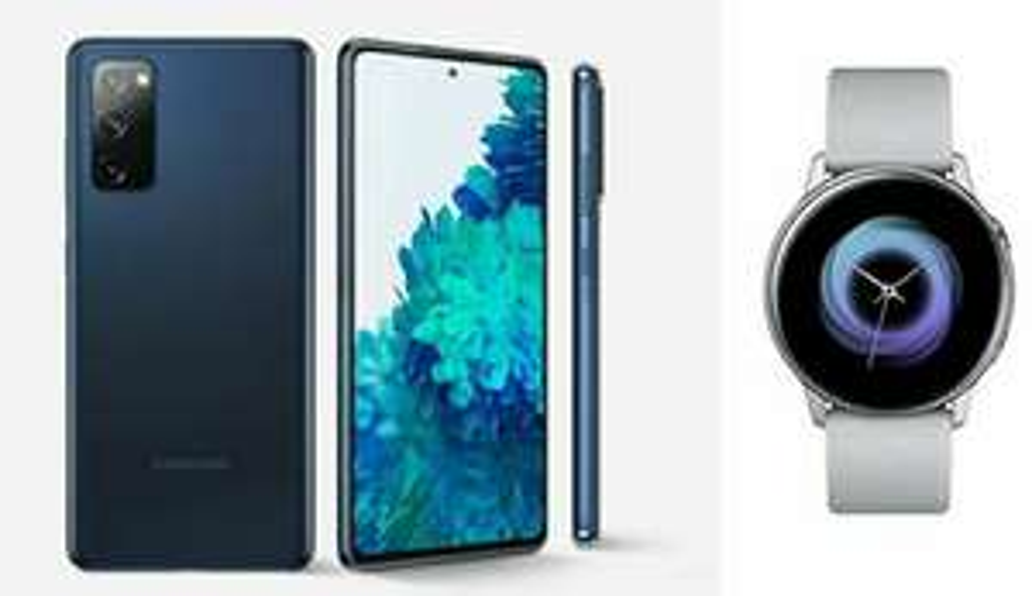 Samsung Galaxy S20 FE 4G Smartphone 128GB + Free Galaxy Watch Active - 4G £529 (£539 Non Customer) 5G £629 @ Giffgaff (+ More Below)