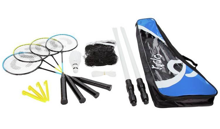 Opti 4 Person Badminton Set - £9.99 with free C&C @ Argos