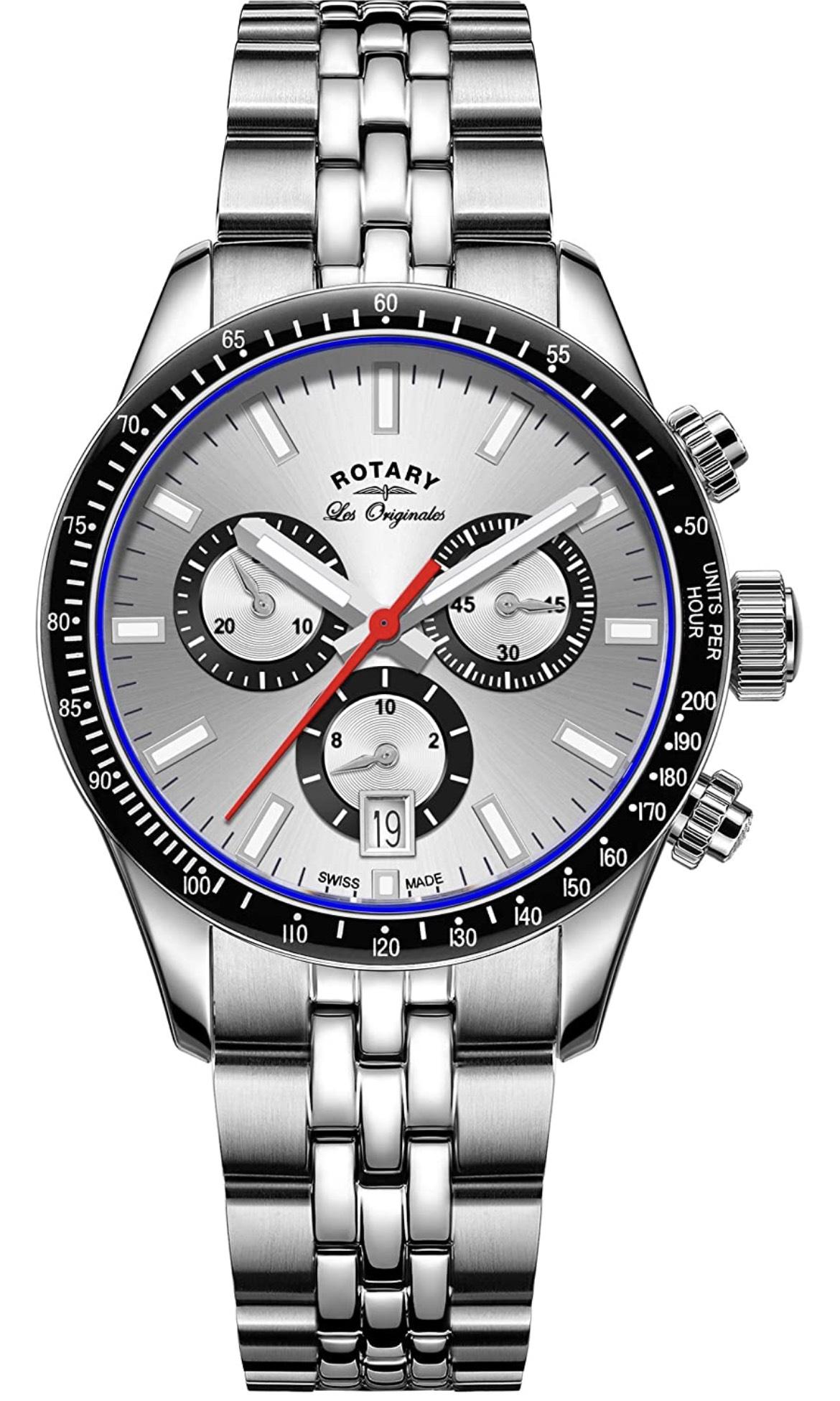 Men's Rotary 'Les Originales' Chronograph Quartz Watch GB90151/06 - £119.99 @ Amazon
