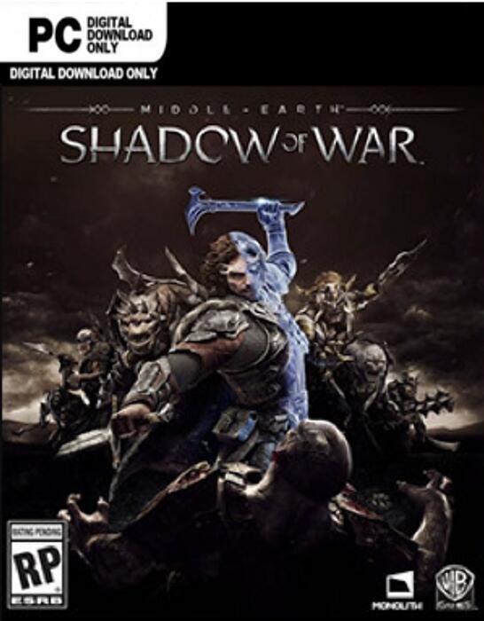 Middle-earth: Shadow of War PC £2.49 @ CDKeys.com