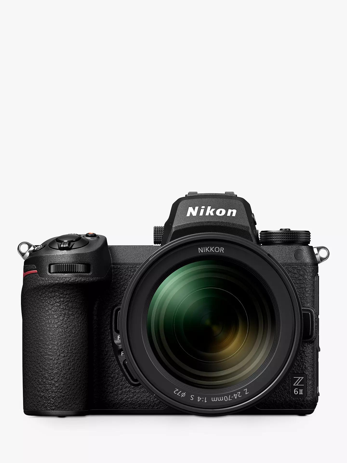Nikon Z6 II Digital Camera with 24-70mm f4 Lens - £2139 delivered @ John Lewis & Partners