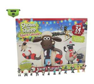 Shaun the Sheep Kids Advent Calendar - £7.50 Prime / +£4.49 non Prime Sold by 247Megadeals and Fulfilled by Amazon