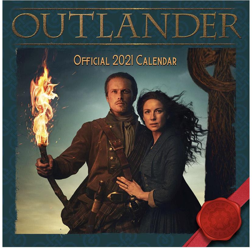 Outlander 2021 calendar £3.50 @ Amazon (+£4.49 Non-prime)