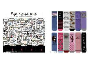 Friends 12 days of Christmas sock calendar £3 in store @Boots York