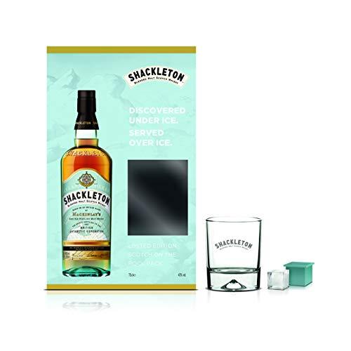 Shackleton Blended Malt Scotch Whisky Gift Pack, 70 cl £20 @ Amazon