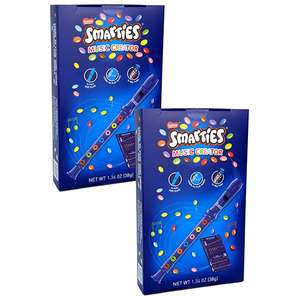 2 x Smarties Flute Music Creator Kids Stocking Fillers Toys + Chocolate £6.00 delivered @ Yankee Bundles