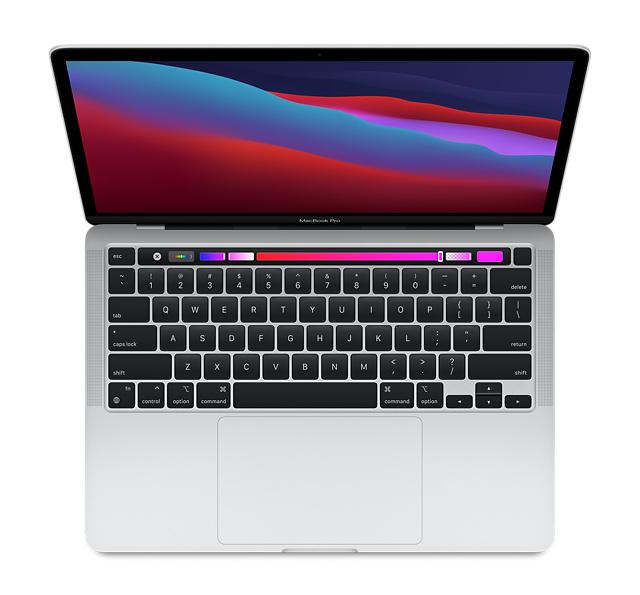 "Apple MacBook Pro 13"" Apple M1 8GB 256GB SSD - Silver £999 @ Laptops Direct"