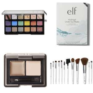 e.l.f Cosmetics 60% Off (Eye Kit £1.80/12 Piece Brush Set £5.80/Eye Shadow Palette £5.80 etc.,) - Delivery £2.95/Free Over £25 @e.l.f